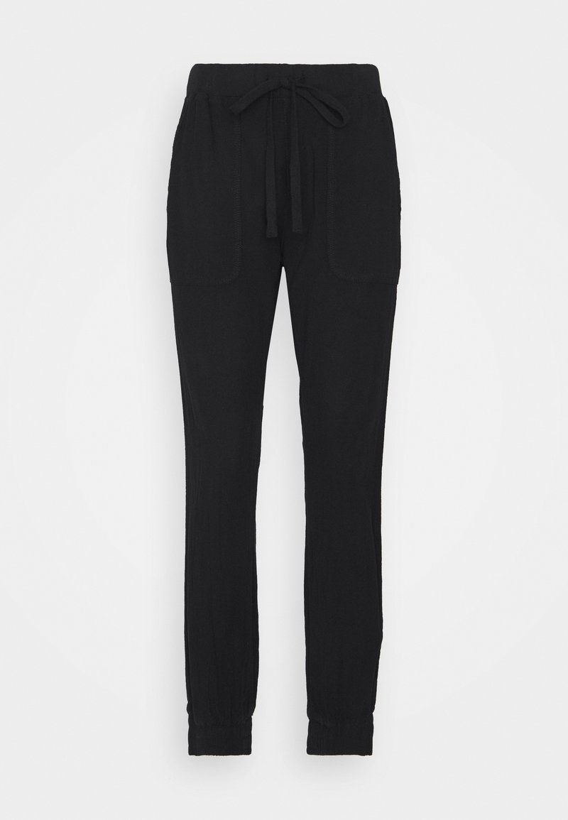 Kaffe - NAYA PANTS - Trousers - black deep