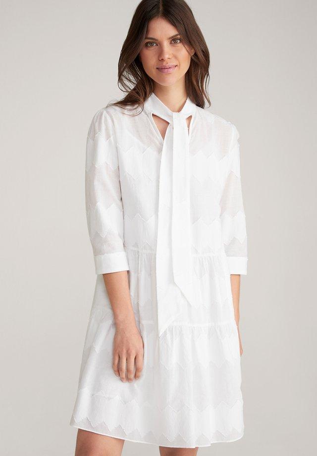 DALA - Korte jurk - weiss