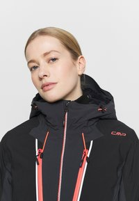 CMP - WOMAN JACKET FIX HOOD - Ski jacket - antracite