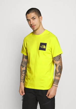 FINE TEE - T-shirt med print - sulphur spring green