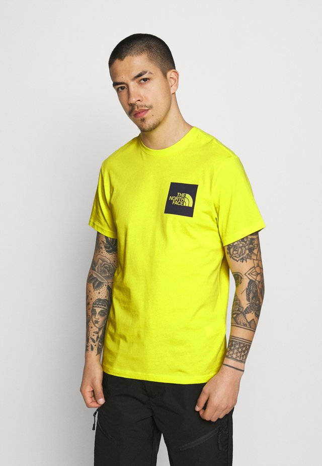 FINE TEE - T-shirt con stampa - sulphur spring green