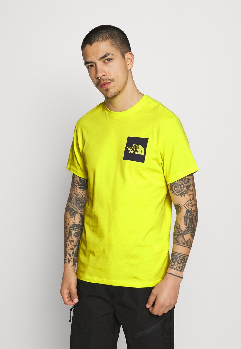 The North Face - FINE TEE - Triko s potiskem - sulphur spring green