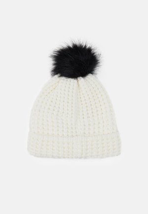 SWIFT BEANIE - Czapka - white/black