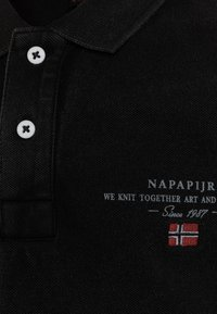 Napapijri - ELBAS - Polo shirt - black - 2