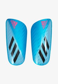 adidas Performance - X PRO - Espinilleras - bright cyan/black/shock pink - 1