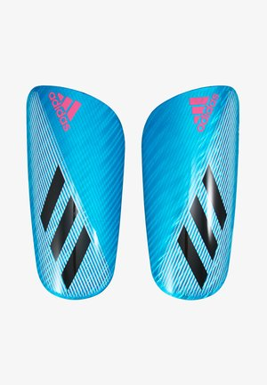 X PRO - Shin pads - bright cyan/black/shock pink