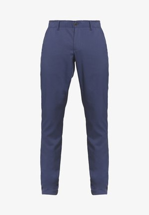 TAKEOVER GOLF PANT TAPER - Pantalones chinos - blue ink