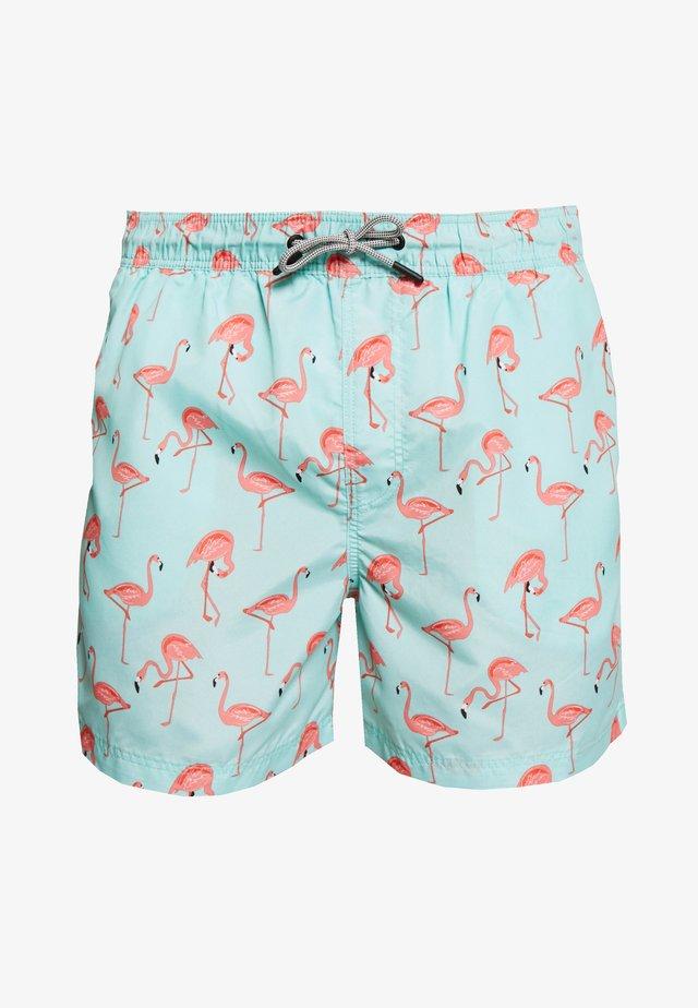 JJIARUBA JJSWIMSHORTS  - Swimming shorts - brook green