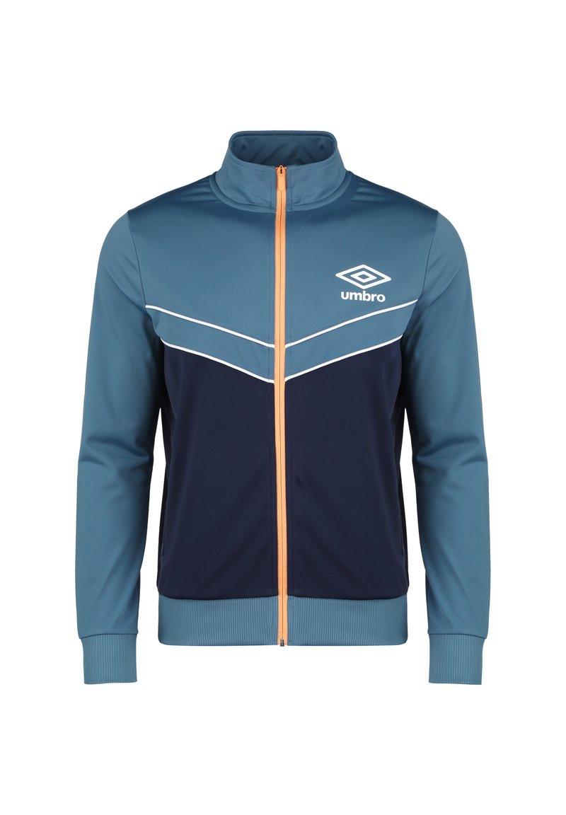 Umbro - DIAMOND TRACK TOP - Training jacket - stellar / medieval blue / cantaloupe