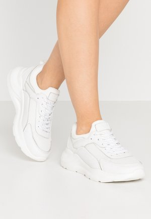 LEATHER - Sneakers basse - white
