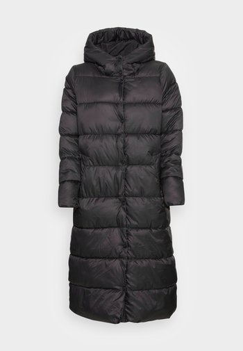 ONLCANACE QUILTED ANKLE COAT  - Classic coat - black