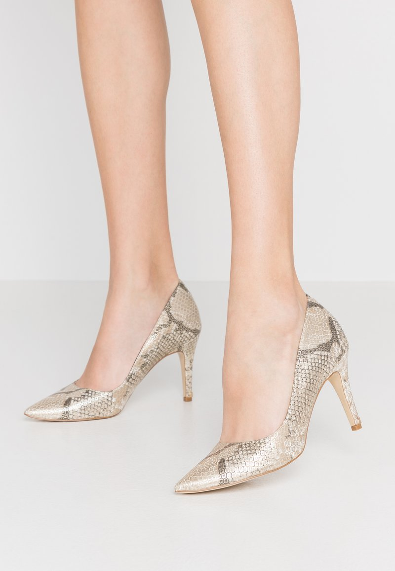 Dune London WIDE FIT - WIDE FIT ANNA - High heels - beige