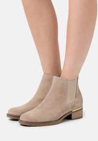 Anna Field - LEATHER - Ankle boots - beige - 0