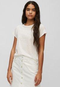 Marc O'Polo DENIM - REGULAR FIT - Basic T-shirt - scandinavian white - 0