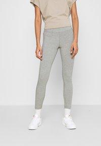 Nike Sportswear - Leggings - grey heather/white - 0