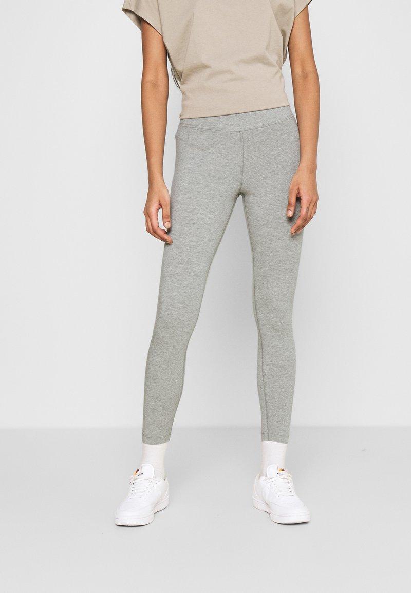 Nike Sportswear - Leggings - grey heather/white