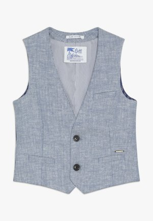 GILET IN QUALITY - Suit waistcoat - blue