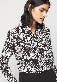 HUGO - ELIFIA - Button-down blouse - black - 3