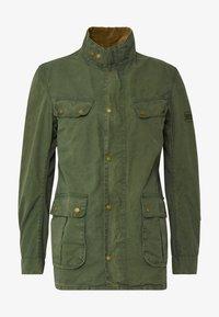 Barbour International - COLOURED DUKE CASUAL - Summer jacket - racing green - 5