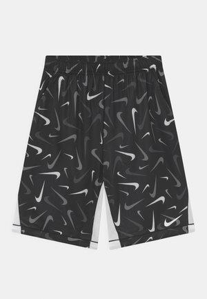 PLUS - Short de sport - black/white