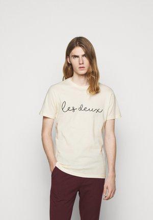 GRAND - T-shirts med print - off white