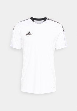 TIRO 21 - T-shirt con stampa - white
