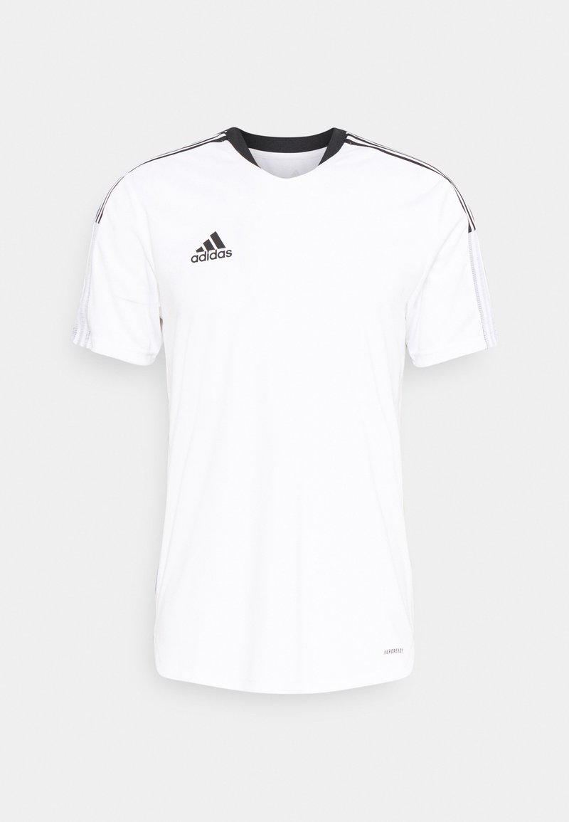 adidas Performance - TIRO 21 - T-shirt med print - white