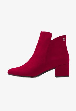 Ankle boots - lipstick