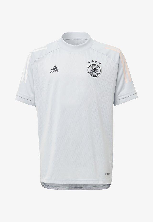 DEUTSCHLAND DFB TRAINING SHIRT - Article de supporter - grey