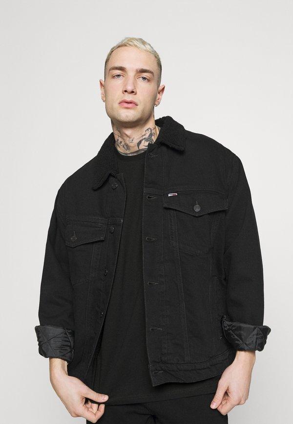 YOURTURN UNISEX - T-shirt z nadrukiem - black/czarny Odzież Męska GGIN