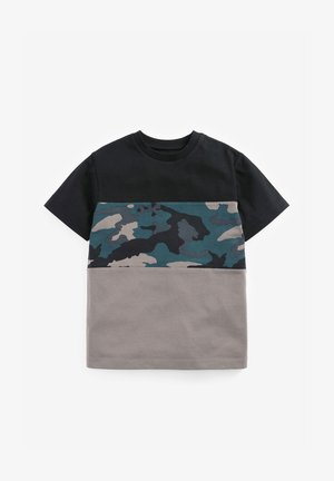 CAMOUFLAGE PANEL  - Print T-shirt - multi-coloured