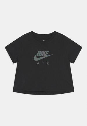 TEE CROP AIR - T-shirt con stampa - black