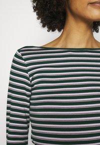 GAP - BATEAU - Langærmede T-shirts - green stripe - 3