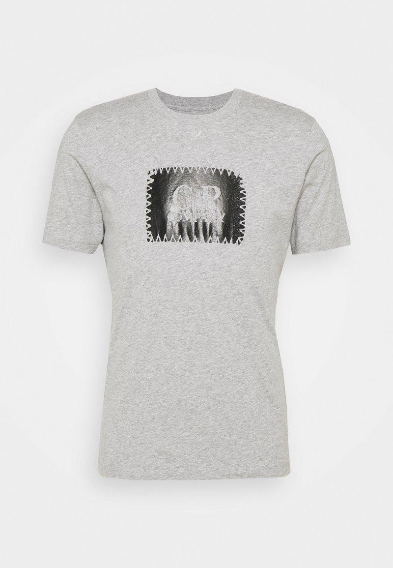 C.P. Company - SHORT SLEEVE - Print T-shirt - grey melange