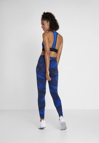 Reebok - LUX GEO - Leggings - blue - 2