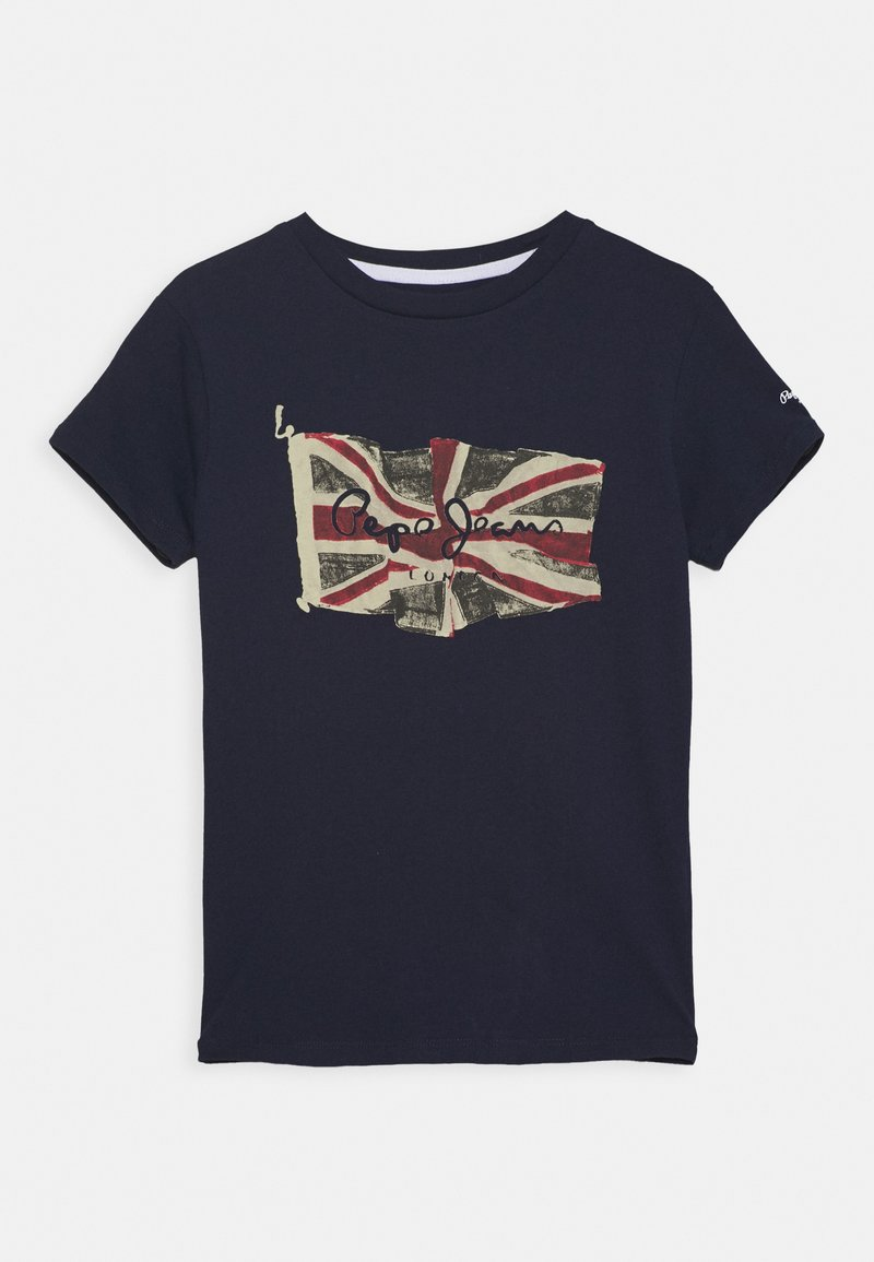 Pepe Jeans - FLAG LOGO  - Print T-shirt - thames