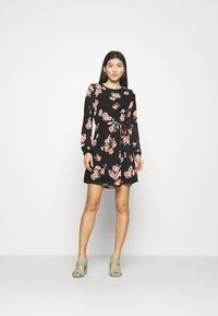 Anna Field - Day dress - black/pink - 1