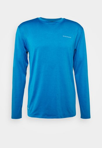 MELL TEE - Long sleeved top - directoire blue