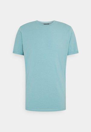 JPRBLALOGO SPRING TEE CREW NECK  - Jednoduché triko - cameo blue