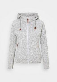 Icepeak - UVALDA - Fleece jacket - light grey - 0