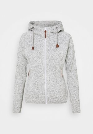 UVALDA - Fleecová bunda - light grey