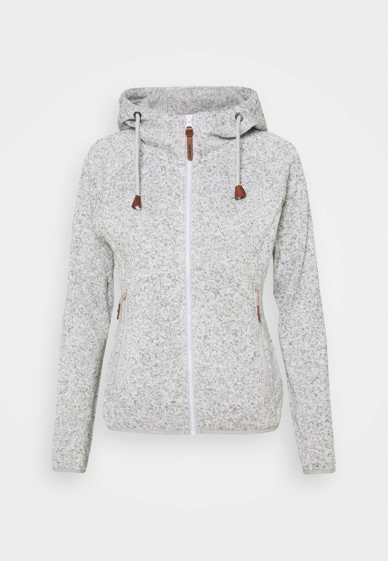 Icepeak - UVALDA - Fleece jacket - light grey