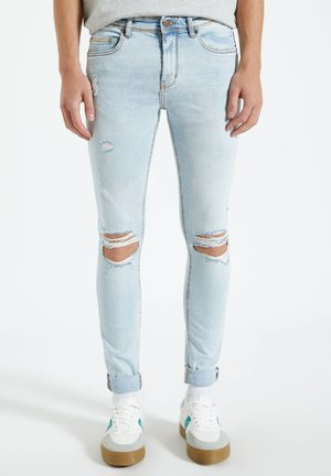 Jeans Skinny - blue-grey