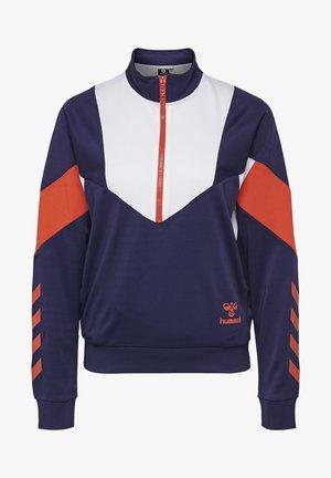 CHI HALF ZIP  - Sweatshirt - blue