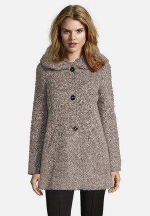 MIT KAPUZE - Classic coat - taupe melange