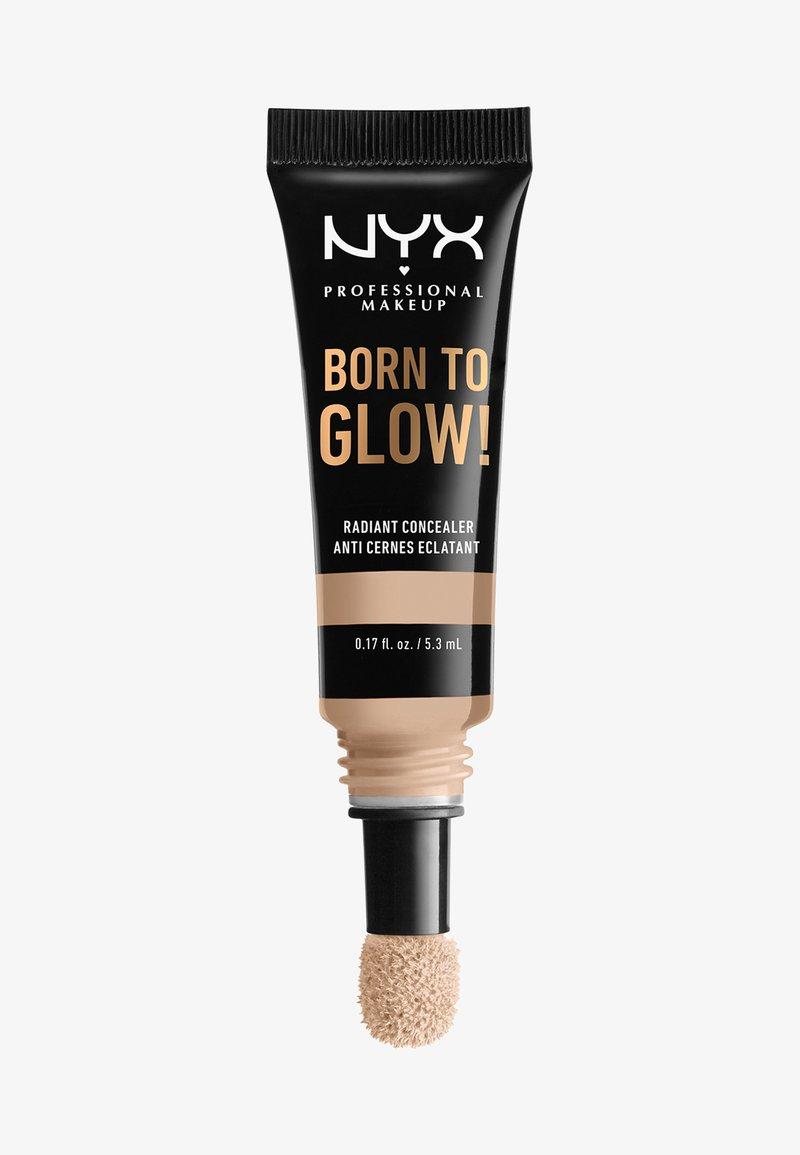 Nyx Professional Makeup - BORN TO GLOW RADIANT CONCEALER - Concealer - 02 alabaster