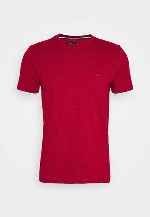 SLUB TEE - T-shirt - bas - primary red