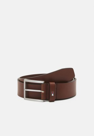 HAMPTON - Belt - dark tan