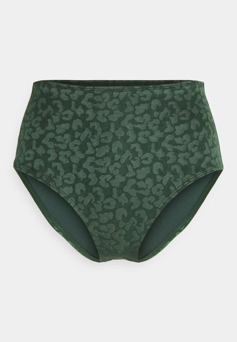 Hunkemöller - TONAL LEO RIO - Bikini bottoms - khaki