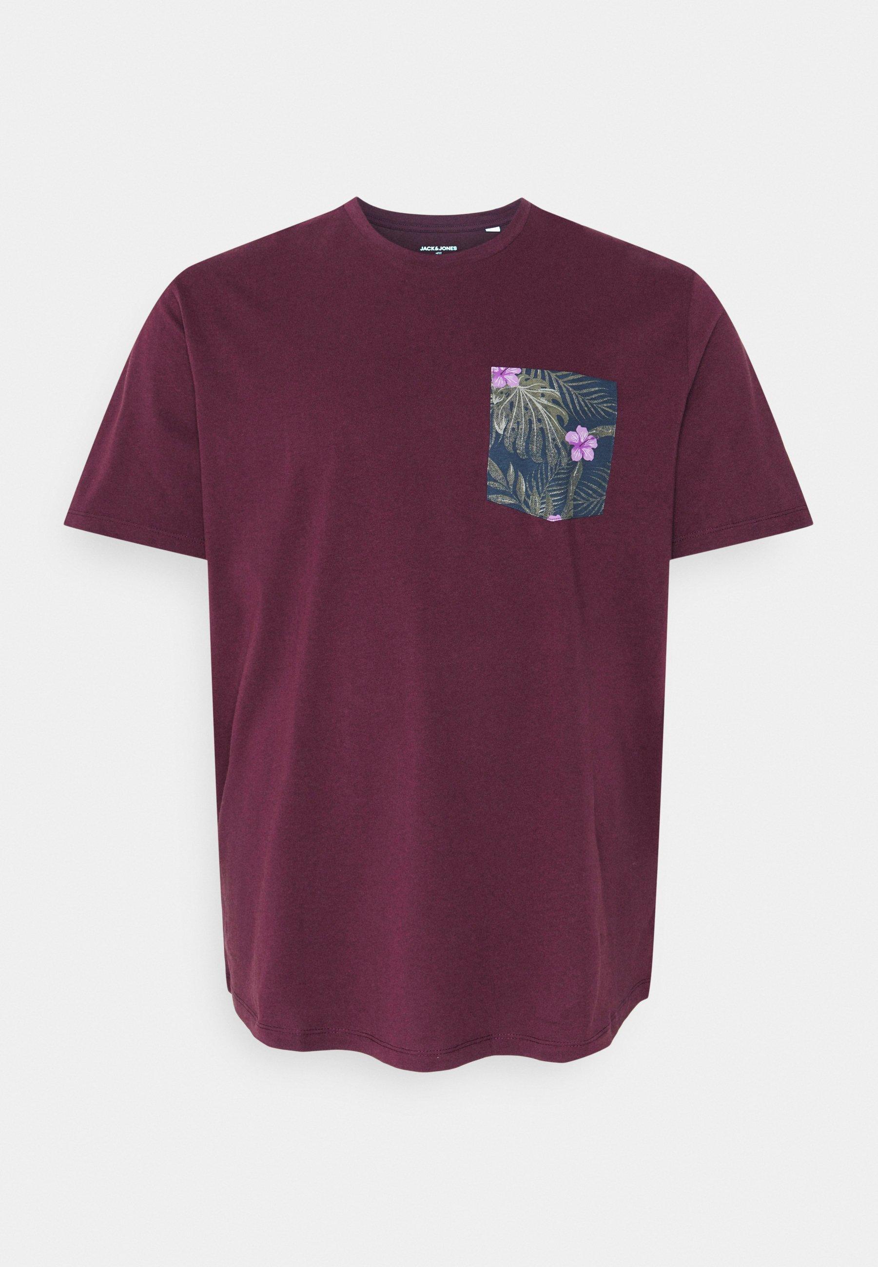 Men JORPAAN TEE CREW NECK - Print T-shirt